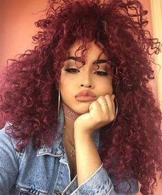 Best Hair Color Ideas : irrelevant-b:Hair goals - Beauty Haircut Curly Weave Hairstyles, Curly Hair Styles, Natural Hair Styles, Kid Hairstyles, Grunge Hair, Crochet Braids, Curly Girl, Big Hair, Gorgeous Hair