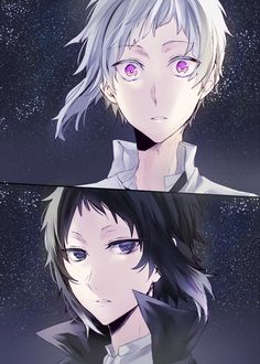 Atsushi, the Beast, and Akutagawa, the Demon. Two sides of the same coin, even if they pulverize anyone who suggests that.