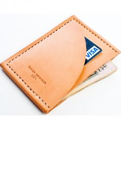 Wallet by Kenton Sorenson. Minimalist. Finely crafted. Made in America. A true man wallet.