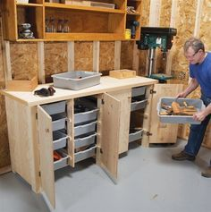AW Extra - Big Capacity Storage Cabinet - The Woodworker's Shop - American Woodworker