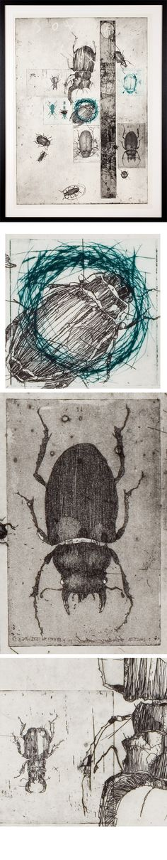 Etchings 2011 on Behance