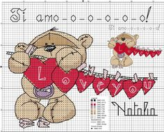 Fizzy Moon, Dmc, Cross Stitch, Teddy Bear, Kids Rugs, Animals, Craft, Dots, Punto De Cruz