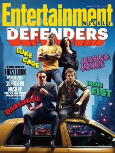 Your exclusive first look at Marvel's 'The Defenders' is here!