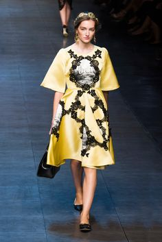 Dolce & Gabbana Spring 2014: The Golden Army