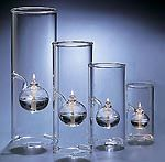 """The Original Wolfard™ Oil Lamps - Compete Set of 4.  Includes: 6 inch, 9 inch, 12 inch and 15 inch Tall Oil Lamps.  Perfect Wedding and Anniversary Gifts ... or  """"just because"""". Fill with various colors of Tropical Lights Candle Oil for a Stylish presentation.  Use as a Table Centerpiece or Mantle Display or separate them for wide area effect."""