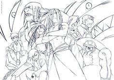 Fullmetal Alchemist: Homunculi by ioshiklineart