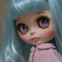 Custom Doll for Adoption by Kitasin  CHECK HERE  http://etsy.me/2FRyItB . . .  #blythe #dollycustom #blythecustom #blythecustomizer #ooakblythe #customblythe #kawaii #doll #artdoll #dollstagram #blythestagram #blythelover #ブライス #instadoll #ブライス #blythedoll #customdoll #dollphotography
