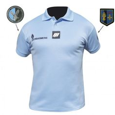 POLO GENDARMERIE NATIONALE MANCHES COURTES HOMME