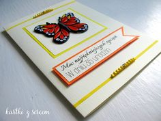 quilling butterfly motyl birthday card urodziny kartka urodzinowa