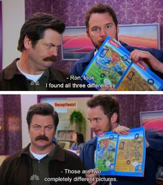 When he called for action in bettering our education system. | 23 Times Andy Dwyer Was Secretly A Genius