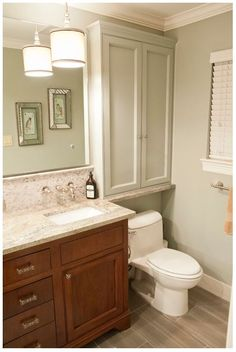 Superieur CABINETS Over Toilet Cabinets  Waynesboro Master Bath Renovation    Transitional   Bathroom   Houston   Curtis Lawson Homes