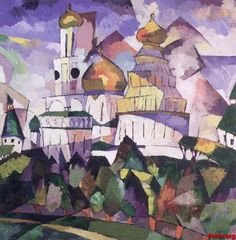 wassily kandinsky - churches new jerusalem