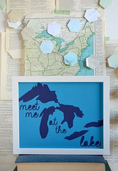 Meet Me at the Lake in Blue - Type Shy
