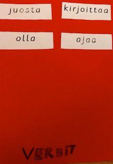 OpenIdeat: Sanaluokat (verbit ja substantiivit) Logos, A Logo