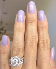 Essie - St. Lucia Lilac - love this light purple manicure