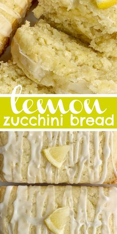 Lemon Zucchini Bread is a perfect way to use up zucchini. Buttermilk, shredded zucchini, fresh lemon juice and zest make this zucchini bread so moist. Lemon Zucchini Bread, Zucchini Bread Recipes, Zucchini Bread Muffins, Zuchinni Bread, Chocolate Zucchini Bread, Lemon Loaf, Healthy Zucchini, Potato Recipes, Köstliche Desserts