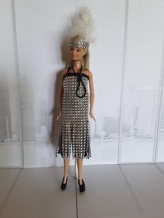 Barbie 1920 Dress Barbie, Diy, Dresses, Fashion, Vestidos, Moda, Bricolage, Fashion Styles, Do It Yourself