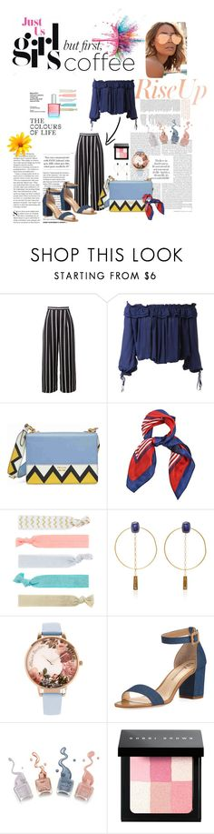 """""""coffee break"""" by bunga-rizky-rais ❤ liked on Polyvore featuring Givenchy, Dsquared2, Prada, Accessorize, Isabel Marant, Olivia Burton, Neiman Marcus, Bobbi Brown Cosmetics and Quay"""