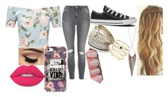 """""""Part 2"""" by chloe-775 ❤ liked on Polyvore featuring Miss Selfridge, Topshop, Converse, Jules Smith, Accessorize and Lime Crime"""