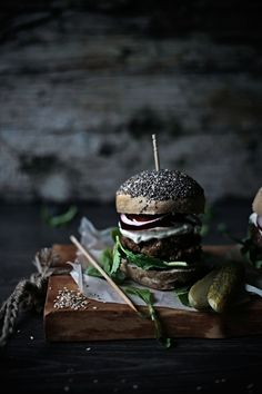 Seedy Burger