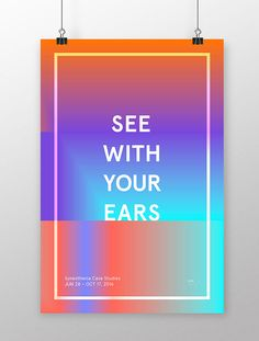 See With Your Ears on Editorial Design Served