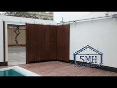 Puerta seccional lateral SMH - YouTube