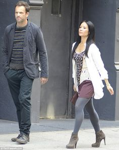 Elementary, a take on a modern Sherlock Holmes, with Jonny Lee Miller and Lucy Liu
