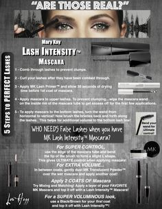 Who needs false lashes? http://www.marykay.com/lisabarber68 Call or text  832-823-1123