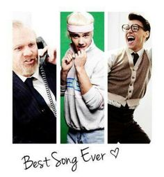 One Direction harvey, leeroy and marcel <3