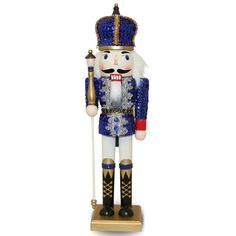 Nutcracker With A Spear Collectible Wooden Toy
