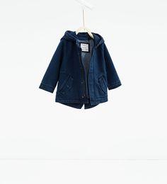 Image 1 of Denim parka from Zara