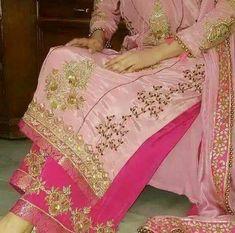@manidrehar❤ New Punjabi Suit, Punjabi Salwar Suits, Designer Punjabi Suits, Punjabi Dress, Indian Designer Wear, Patiala Suit, Embroidery Suits Punjabi, Embroidery Suits Design, Saree Blouse Patterns