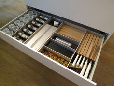 SieMatic drawer system 2013