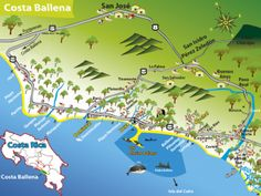Mapa Costa Ballena, http://ballenatales.com/wp-content/uploads/2012/09/Mapa-Costa-Ballena.pdf