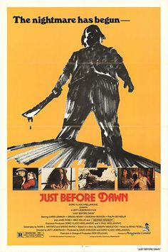 Just Before Dawn Movie Poster