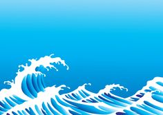 Surging Sea wave vector backgrounds 03