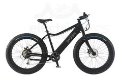 Pedego Trail Tracker Fat Tire 2016 Black with Blue Rims The Pedego Trail Tracker is an unstoppable fat tire electric bike - it can go places and do things that no other bike can. Best Electric Bikes, Electric Bicycle, Fat Bike, Road Bikes, Cycling Bikes, E Bicycle, Mountain Bike Shoes, Bike Store, Kids Bike