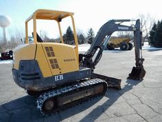 Volvo Mini Excavators    http://www.rockanddirt.com/equipment-for-sale/VOLVO/excavators-mini