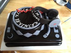 Beats by Dr. Dre inspired birthday cake.   www.facebook.com/staceycakesmissouri