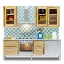 LUNDBY Stockholm Doll's House Furniture Kitchen Set