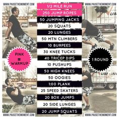 Free Bodyweight Workout - Feel The Burn!