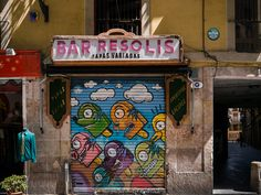 No trip to Barcelona is complete without a look at the city's superb street art.