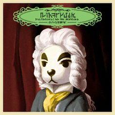 K.K. Sonata Games CF, NL, HHD Mood A little sad Owned by Muffy, Annalise, Beardo, Miranda (NL), Billy (NL), Julia (NL) Characters on cover N/A Live Aircheck Music Box Music K.K. Slider songs Agent K.K. • Aloha K.K. • Bubblegum K.K. • Café K.K. • Comrade K.K. • DJ K.K. • Forest Life • Go K.K. Rider • Hypno K.K.• I Love You • Imperial K.K. • K.K. Adventure • K.K. Aria • K.K. Ballad • K.K. Bazaar • K.K. Birthday • K.K. Blues • K.K. Bossa • K.K. Calypso • K.K. Casbah • K.K. Chorale • K.K. Co...