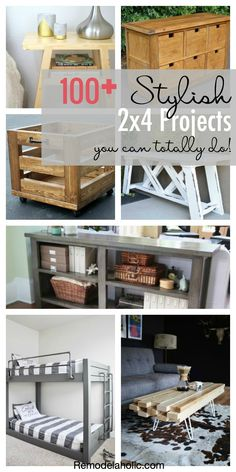 Remodelaholic | 100+ Stylish 2x4 Projects You Can Totally Do!