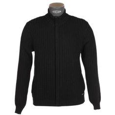 Gilet zippé  en laine noire Armor Lux,dispo chez: (www.facebook.com/GRAINE.DE.MARIN) à #Berck/mer. ;-)