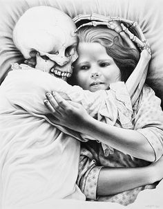 Laurie Lipton - Death and the Maiden
