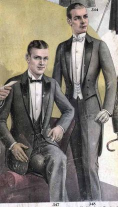 Gentlemen's Titanic Era Fashions a Guide, by Katy Bishop The Commonwealth Vintage Dancers