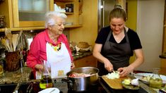 April Bloomfield Cooks Veal Shank with the Legendary Marcella Hazan on Mind of a Chef.