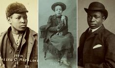 Telling the tales of teen slaves, brothel workers and dancing girls, in their own words, the fascinating photos and reports have been published by Barnardo's as part of Black History Month.