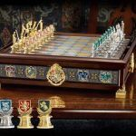 Harry Potter Noble Collection Chess - cool set from noble collection! #chess
